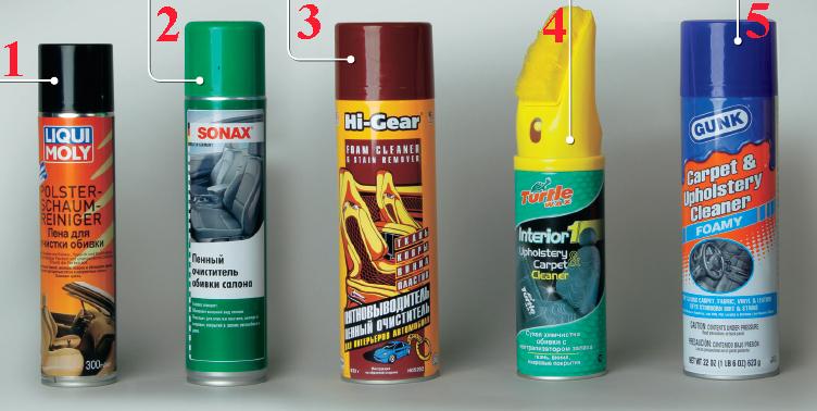 Химия для чистки автомобиля своими руками 12
