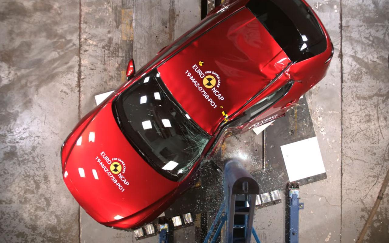 Результаты новых краш-тестов: Corolla, Mazda 3, T-Cross ...