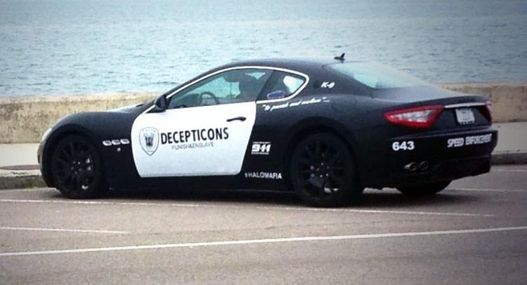 Maserati в полицейской раскраске попался настоящим копам - журнал За рулем