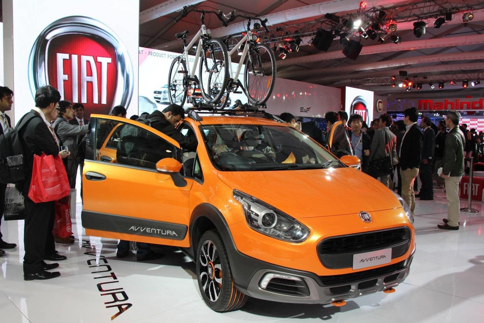 В Индии дебютировал концепткар Fiat Avventura на базе Punto ...