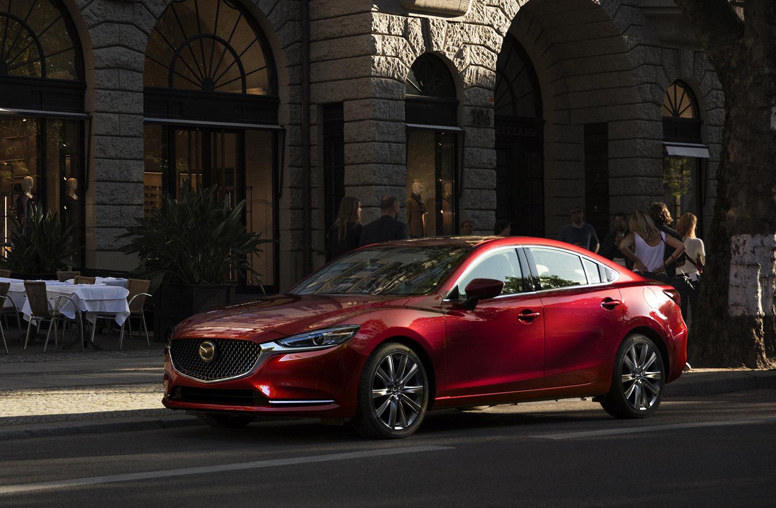 Обновленная Mazda 6 серьезно прибавила в цене в России