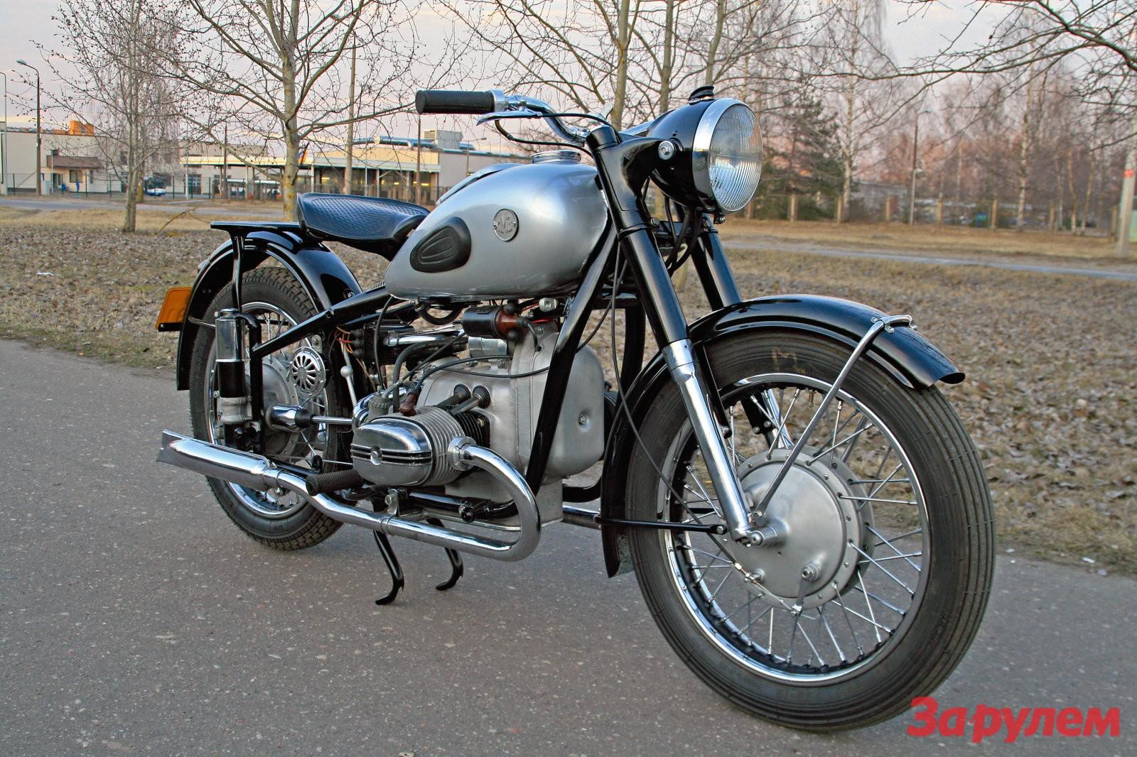 мотоцикл м52 фото
