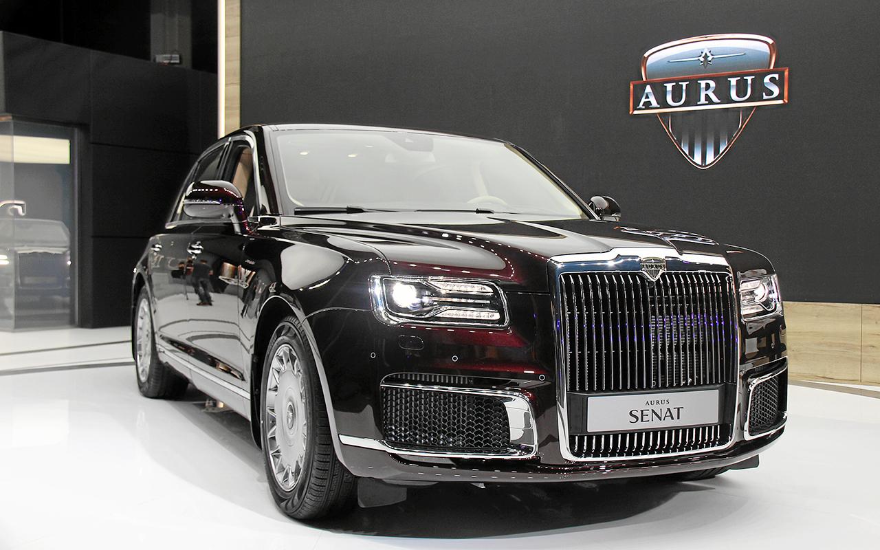 Aurus Senat: заглядываем внутрь самого крутого российского автомобиля
