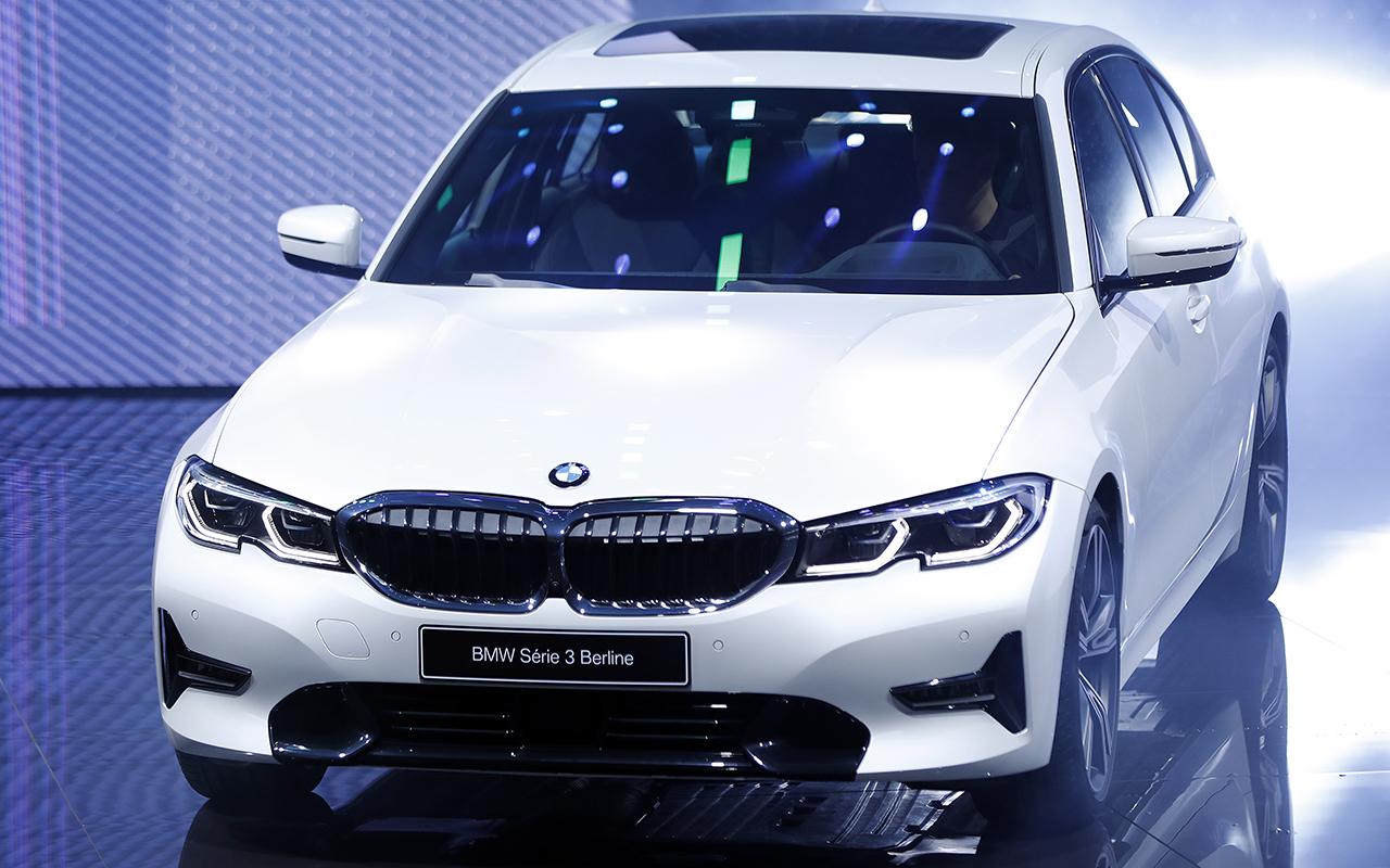 Новая BMW 3-й серии в Париже – на сколько она выросла?