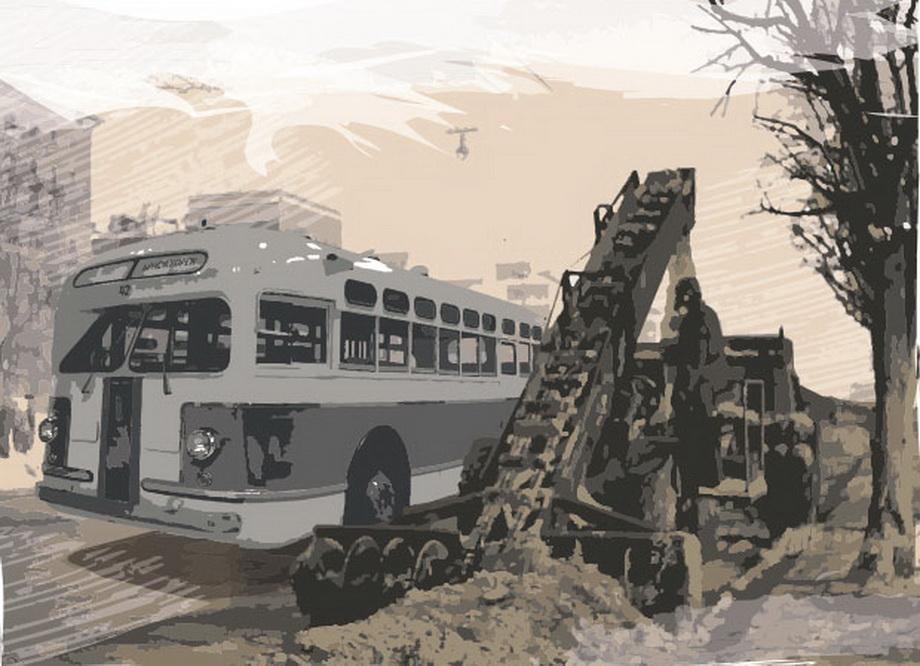 Автобус ЗИС-154: эх, если бы не дизель...