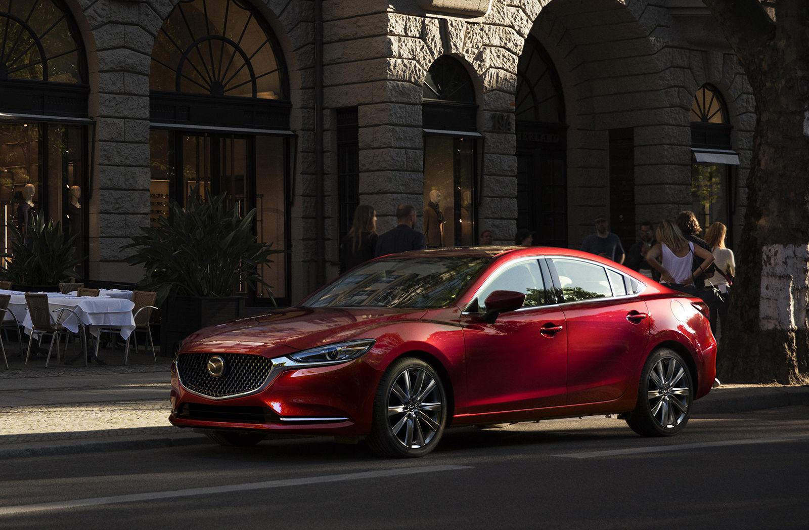 Обновленная Mazda 6 для России получит новый двигатель