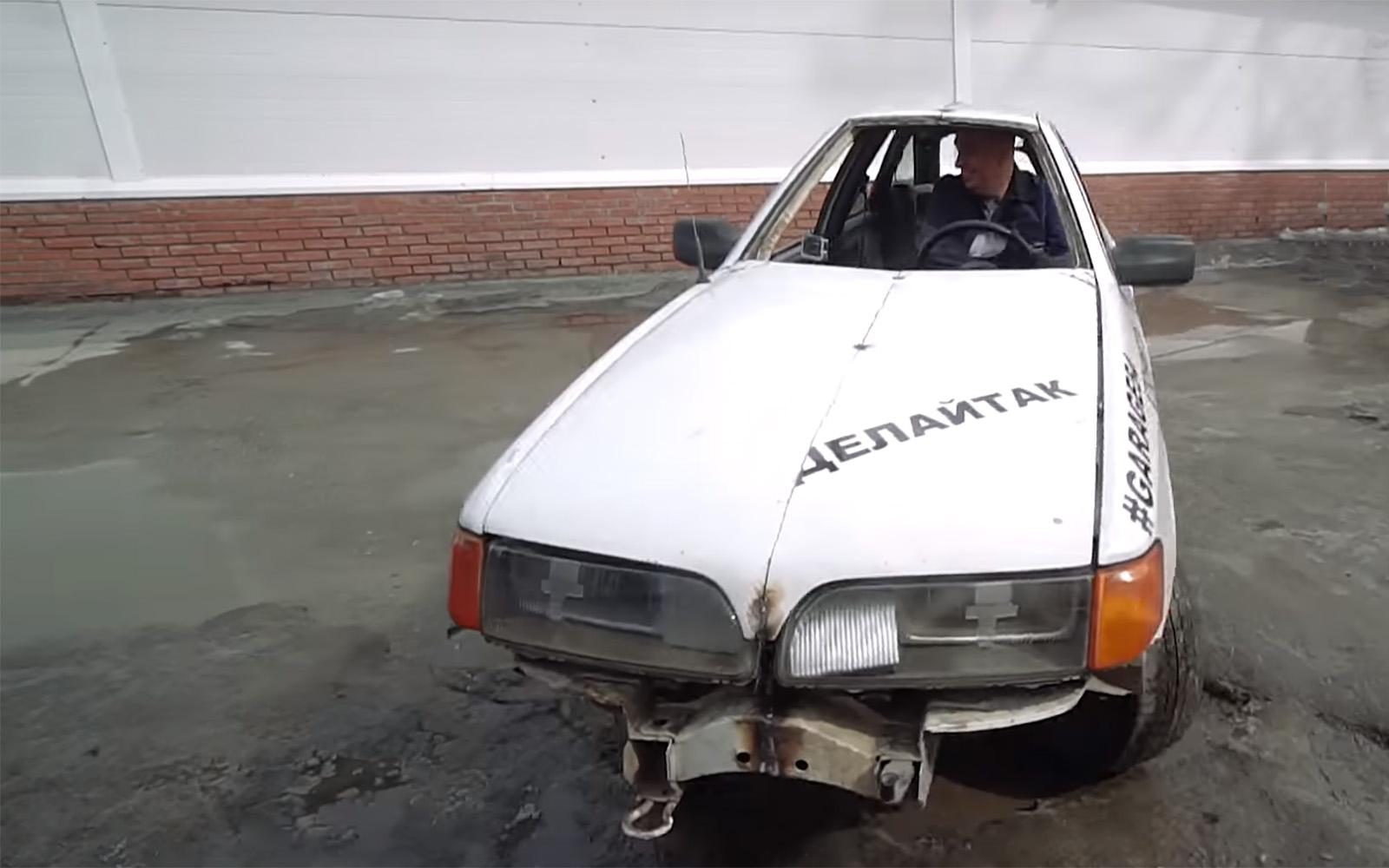 ВРоссии сделали идеальный автомобиль дляпробок