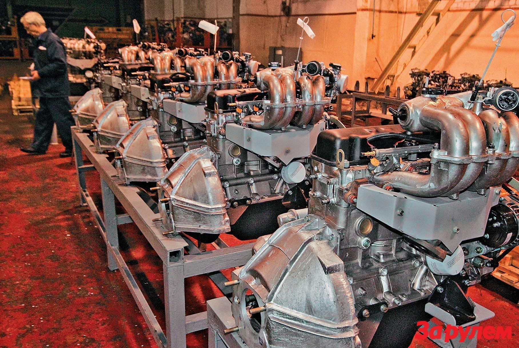 схема двигателя гидротолкатель клапана 42164