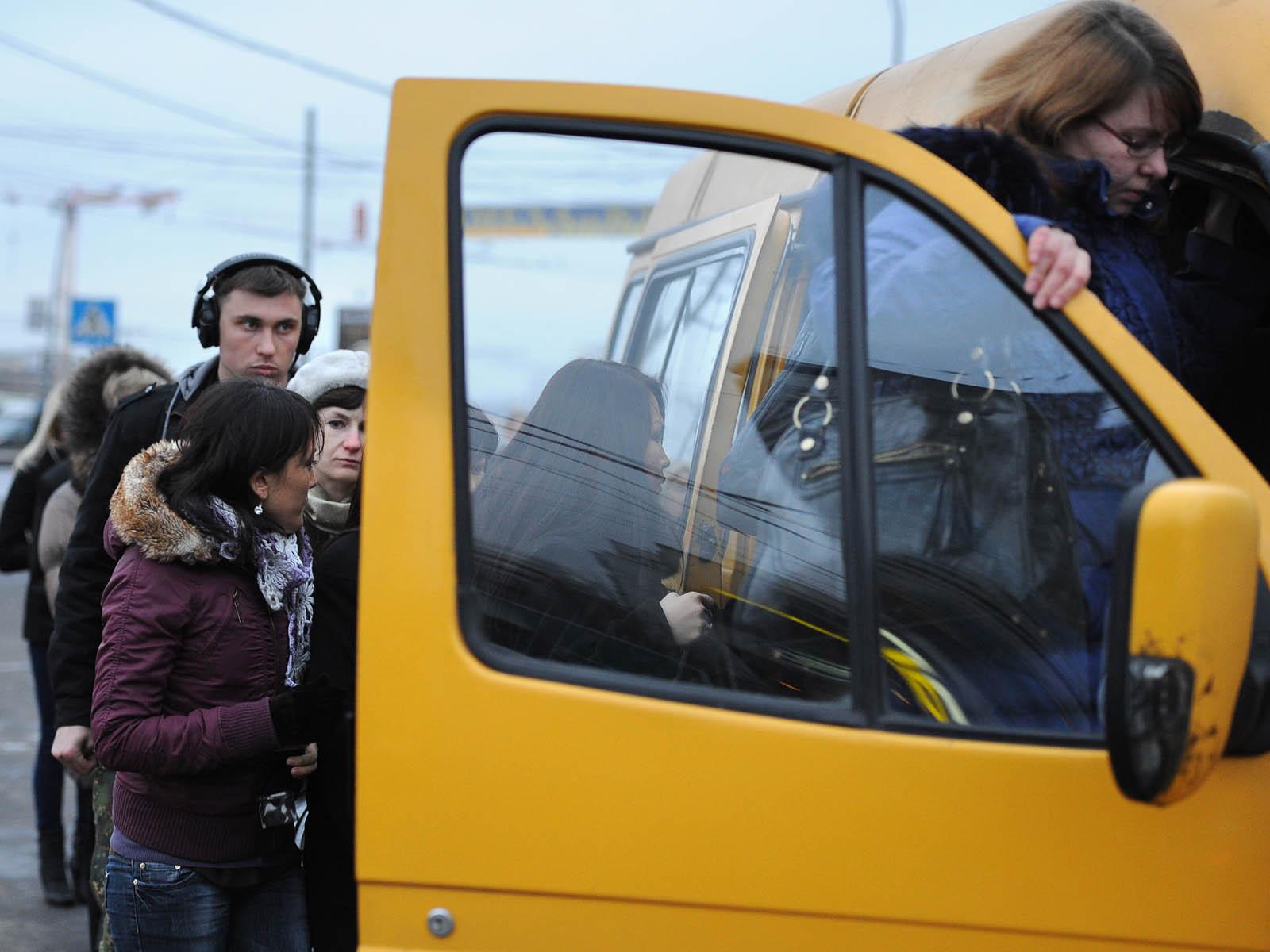 Маршрутки в Москве вольют в единую транспортную систему - журнал За рулем