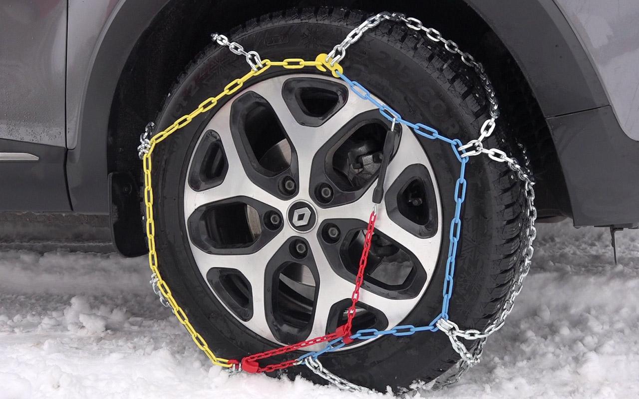 Какие цепи для колес лучше? - видеоэкспертиза ЗР