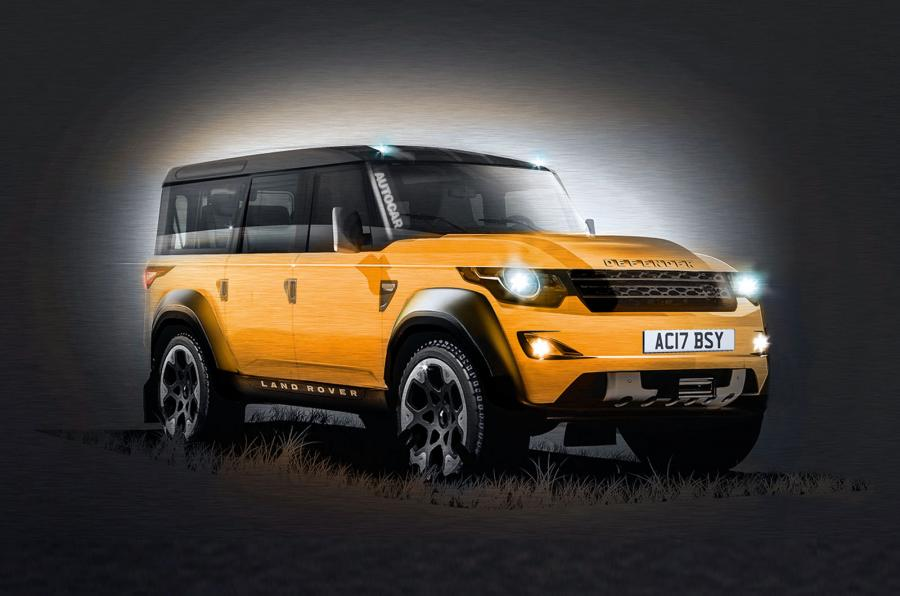 The new land rover discovery is on its way