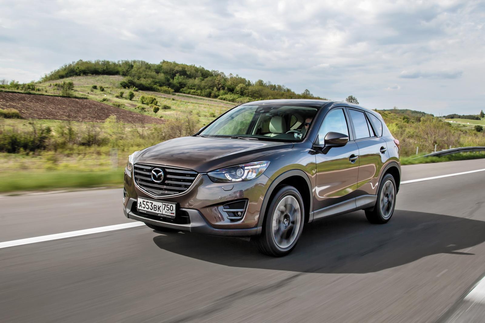 Обновленный <b>Mazda CX</b>-<b>5</b>: что нового? — журнал За рулем