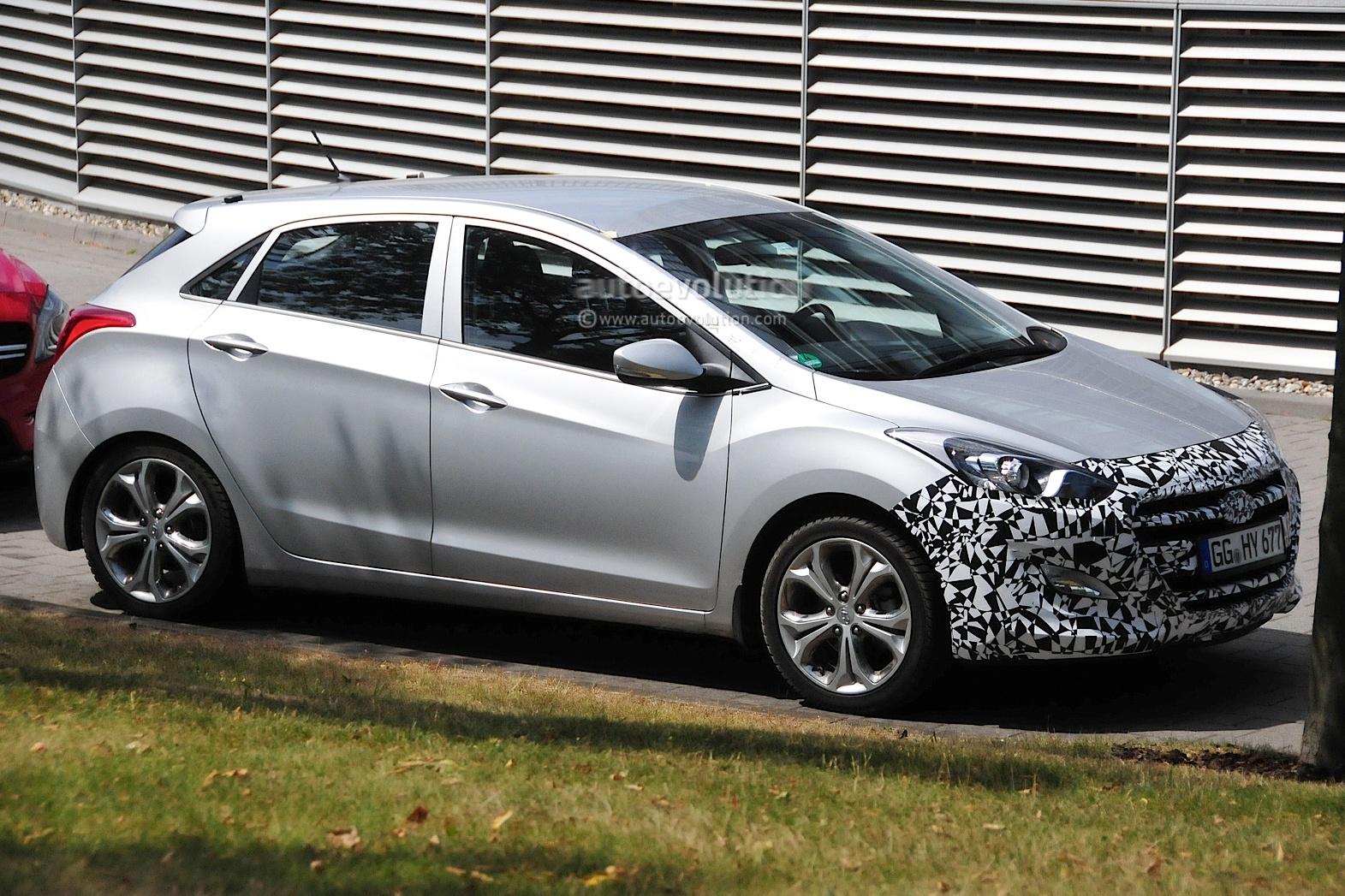 Hyundai тестирует обновленный хэтчбек i30 - журнал За рулем