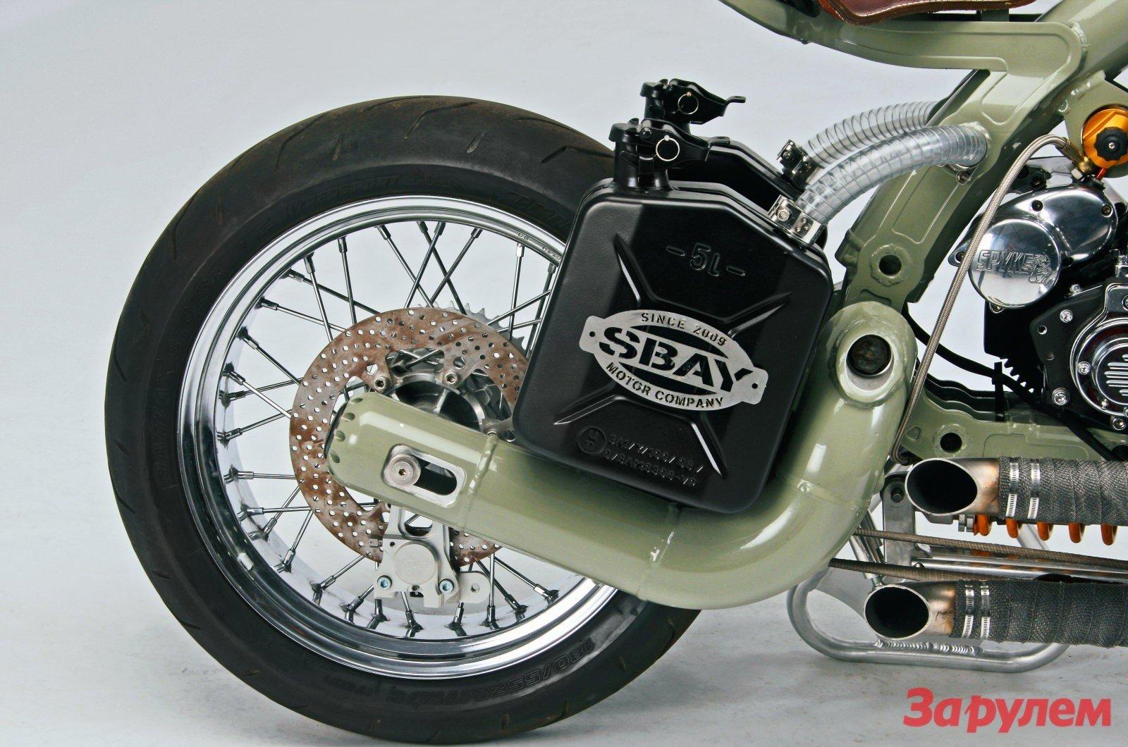 самодельный бензобак на мотоцикле фото поделилась