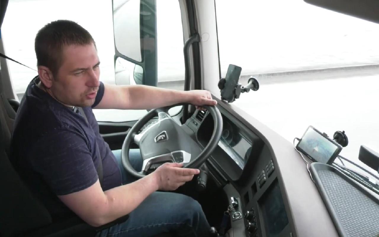 Как реагируют на новый КАМАЗ в Европе? Рассказ дальнобойщика