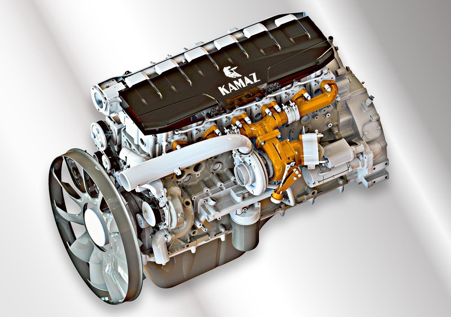 КАМАЗ‑910.10 - перспективный дизельный мотор - журнал За рулем
