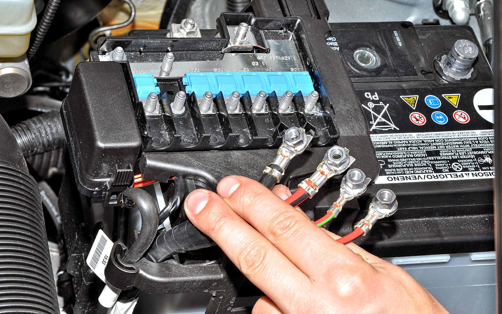 фольксваген поло седан как проверить зарядку аккумулятора
