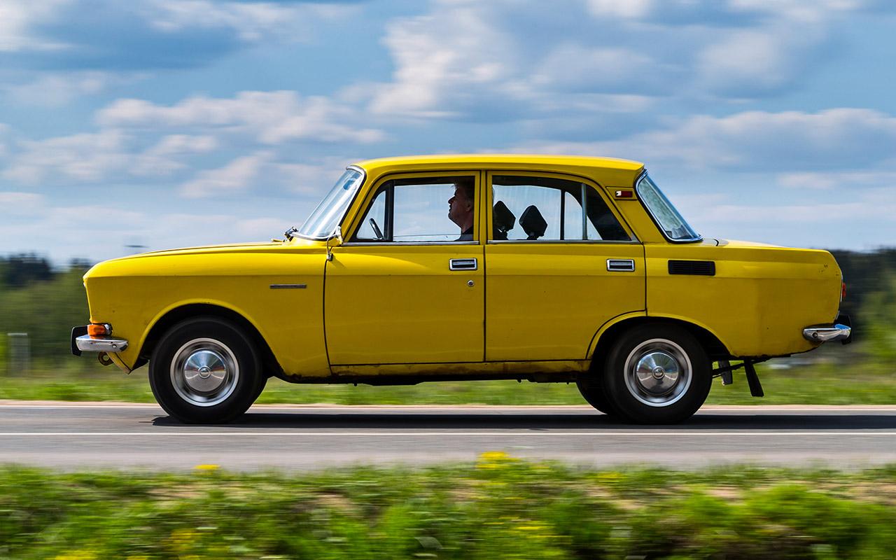 Москвич-2140 — тест-драйв последнего заднеприводного автомобиля АЗЛК —  журнал За рулем