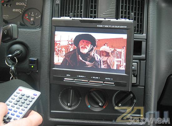 Своими руками телевизор в авто