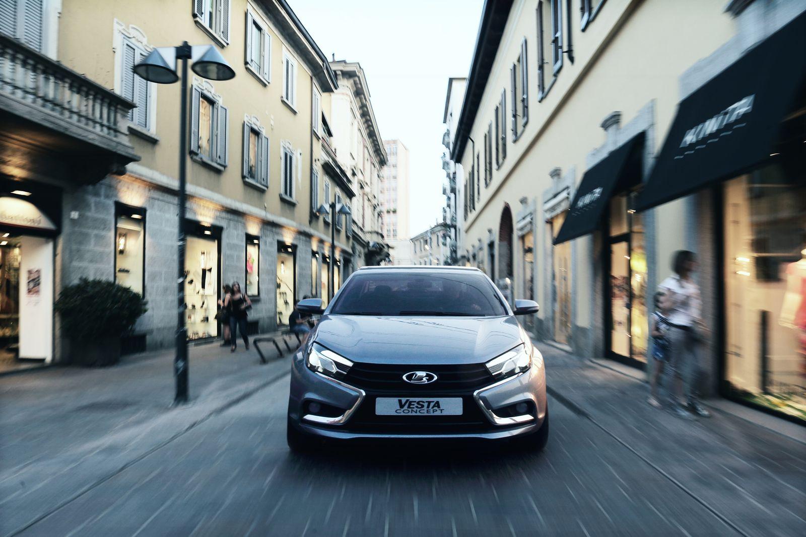 Lada Vesta поедет на электричестве - журнал За рулем