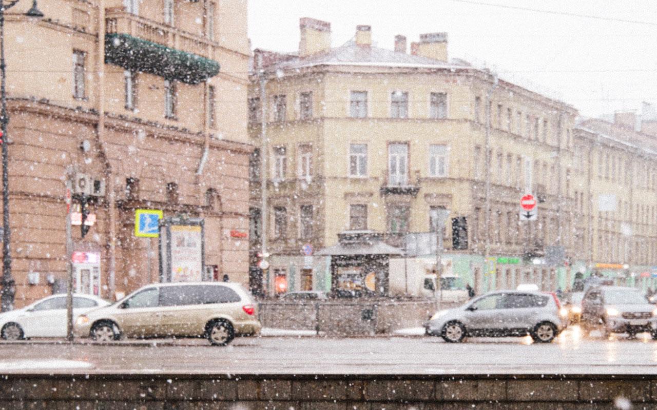 Переходим на зимние шины — статистика погоды