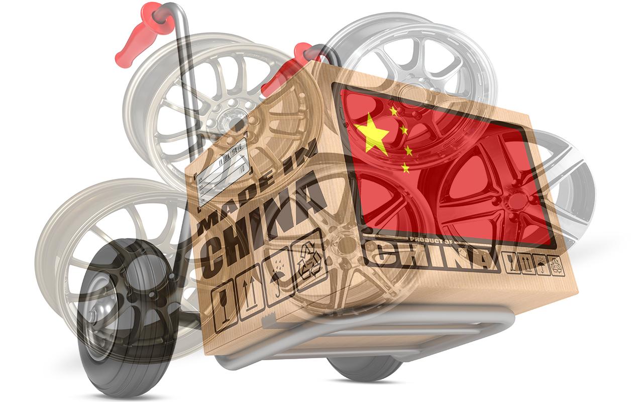Китайские литые диски в России обложат пошлиной в 33,66%