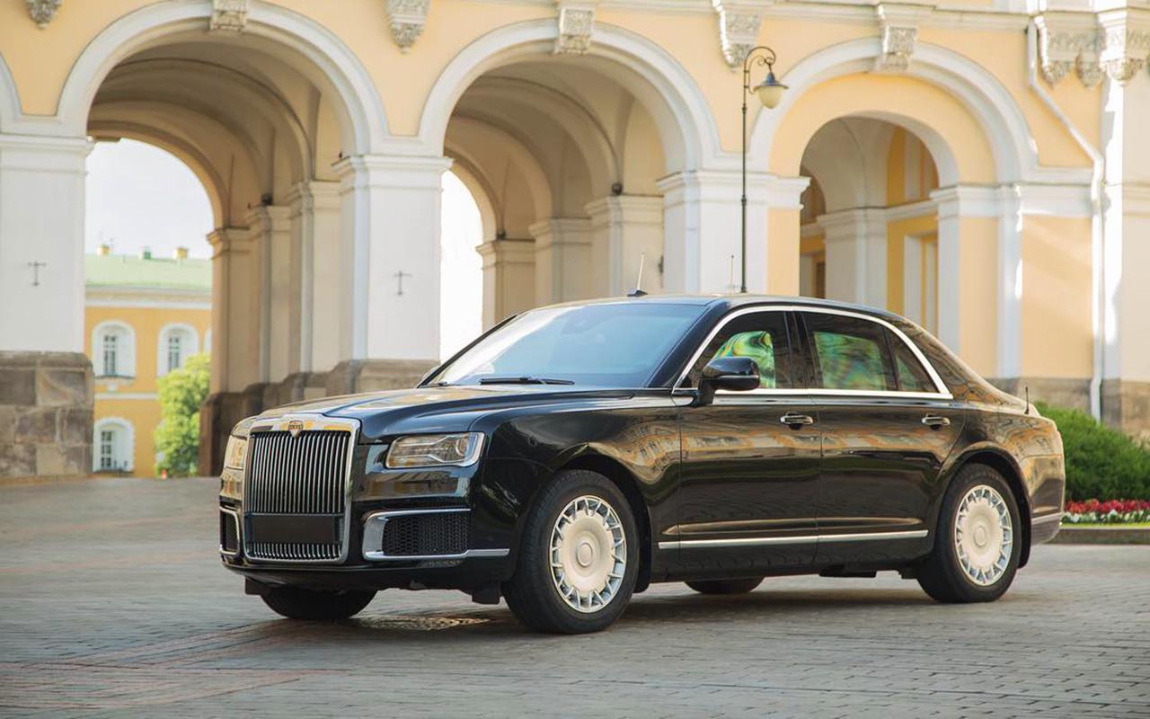 Автомобили проекта «Кортеж» покажут в Женеве и Монако