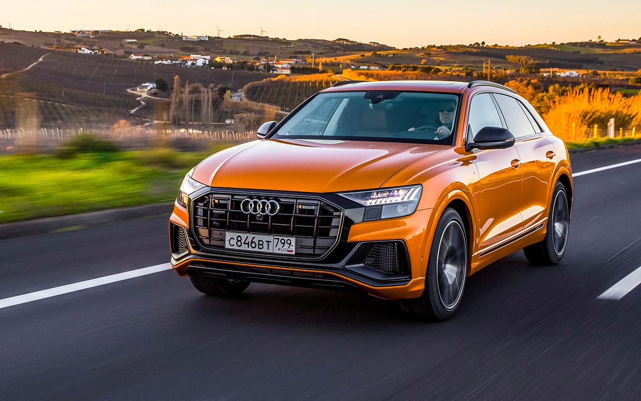 Новый кроссовер Audi: как дороже, чем Кайен?!