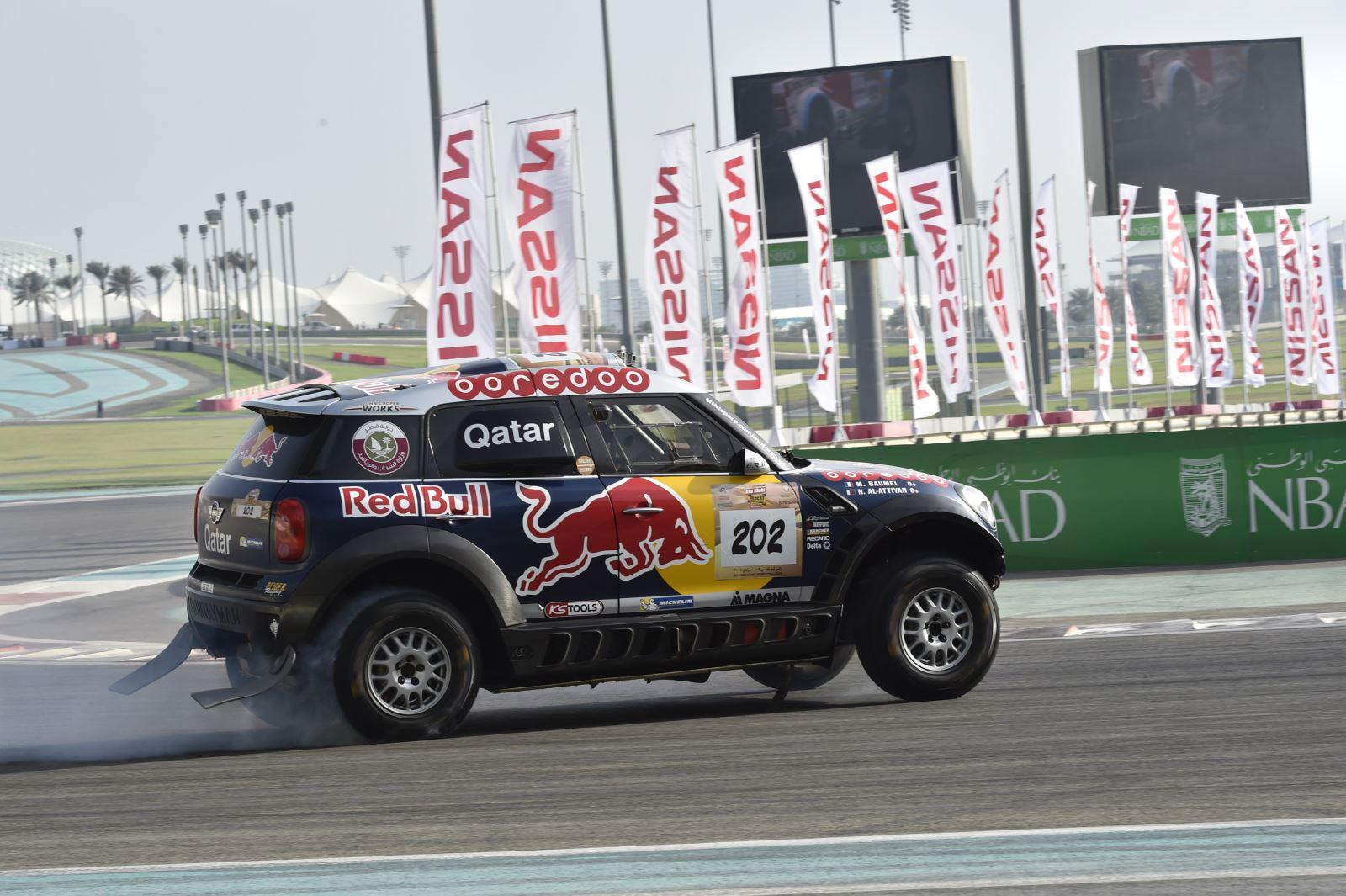 Ралли-рейды: гонка в Абу-Даби — журнал За рулем