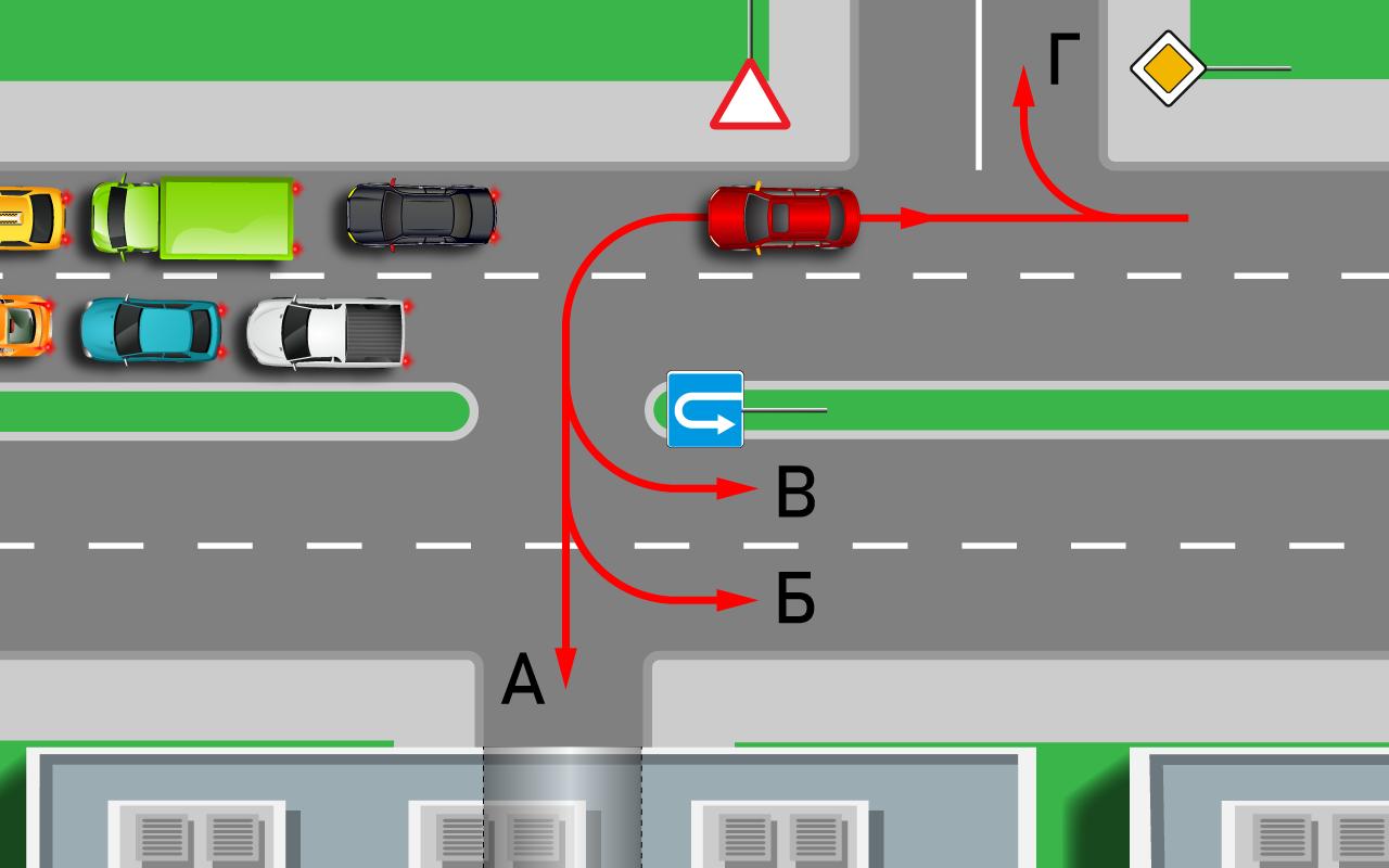 a898272aea93 Как спастись от пробки и штрафа — тест на знание ПДД — журнал За рулем