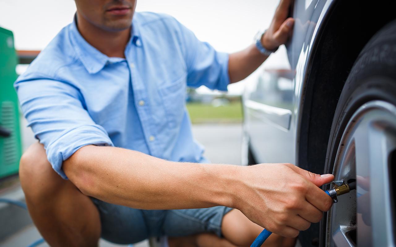 Неправильное давление в шинах — вот когда оно необходимо