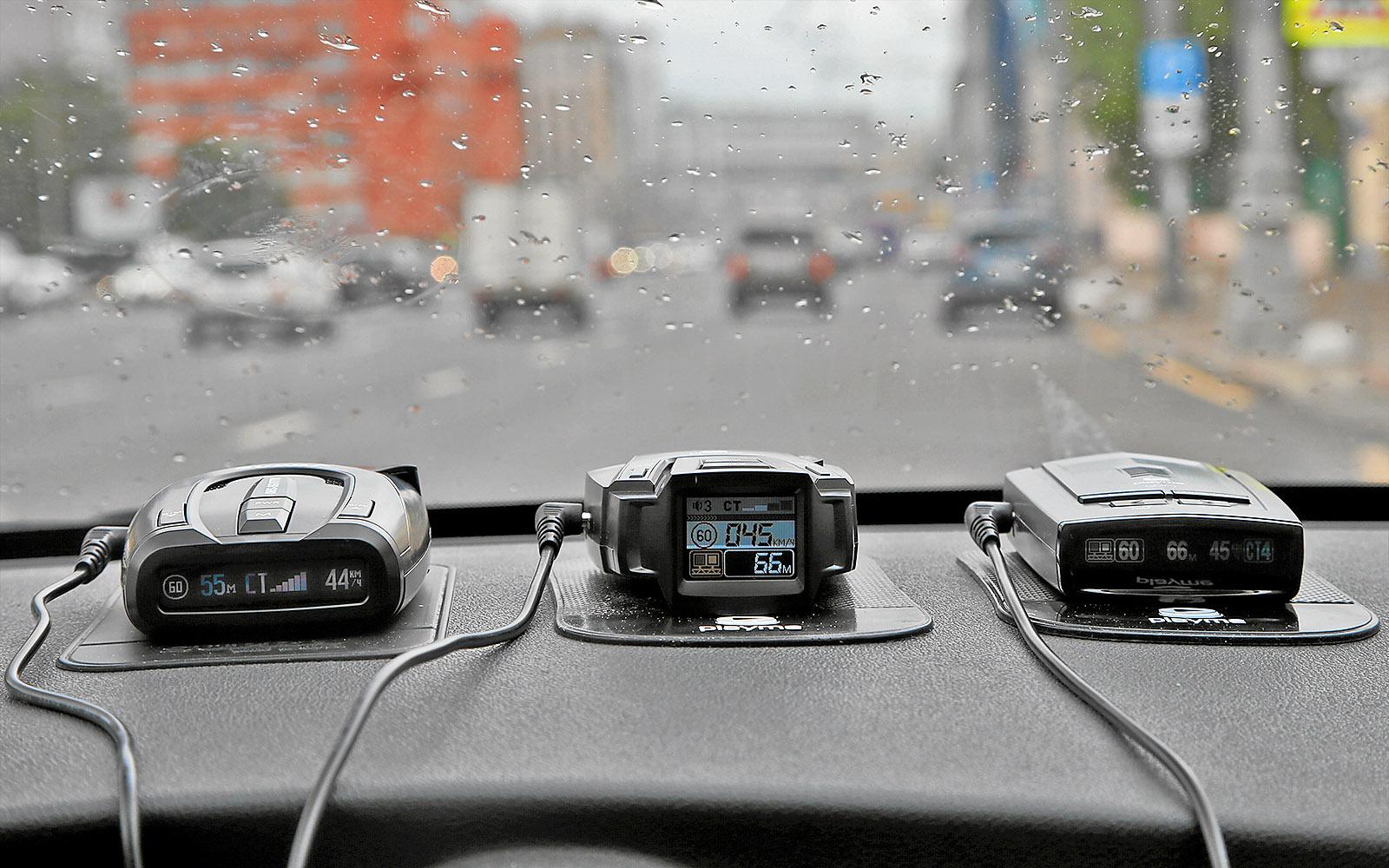 Сигнатурные радар-детекторы - сравнительный тест - журнал За рулем