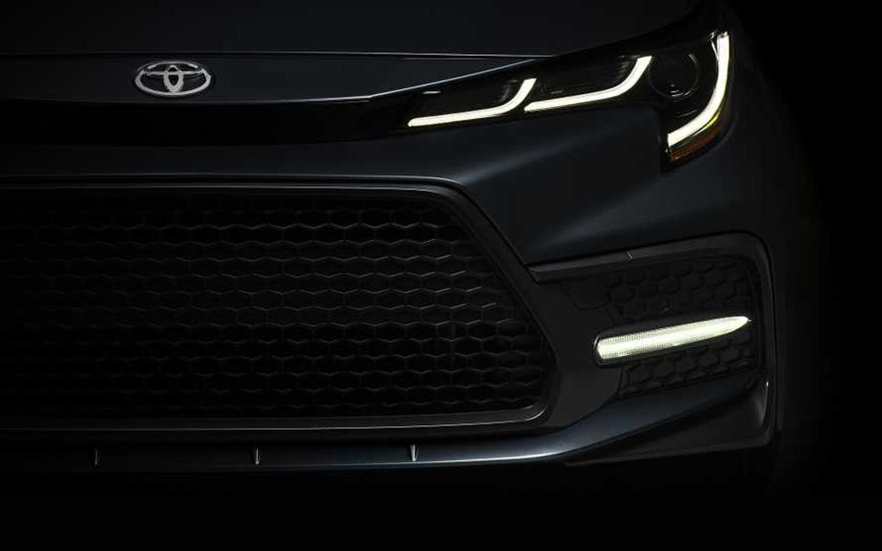 Новый седан Toyota Corolla: первое фото и дата премьеры — журнал За рулем