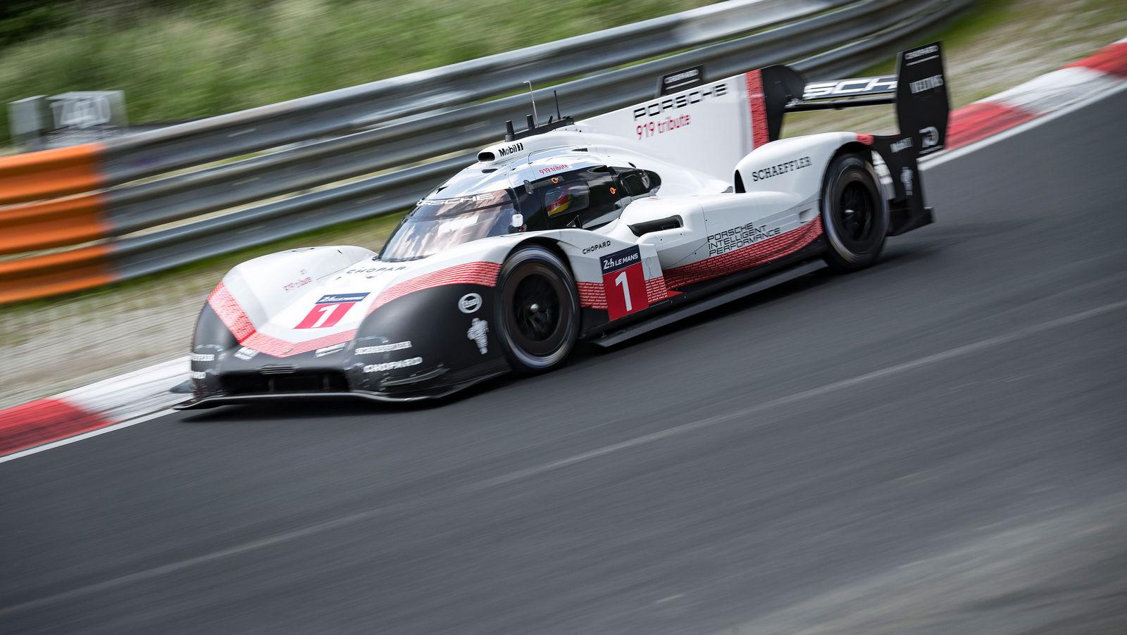 Porsche установила новый абсолютный рекорд Нюрбургринга!