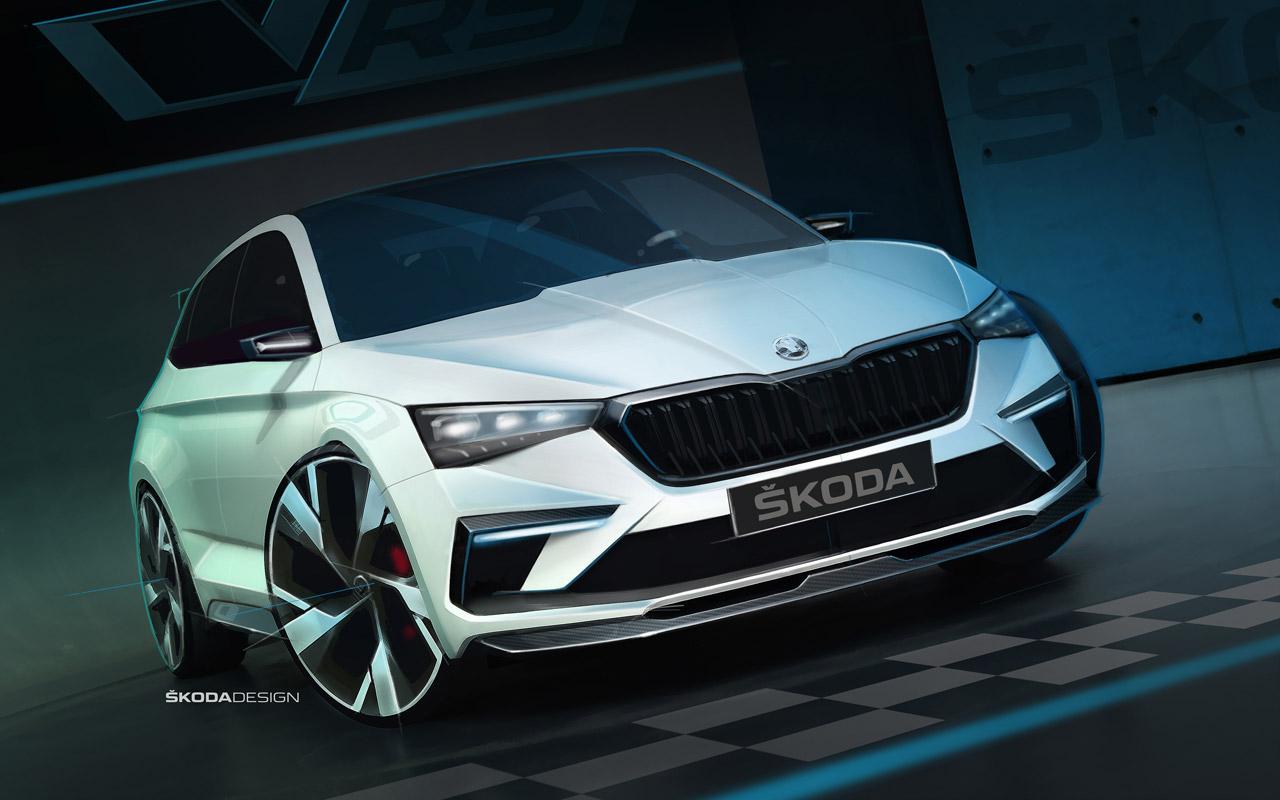 Skoda показала дизайн нового Rapid