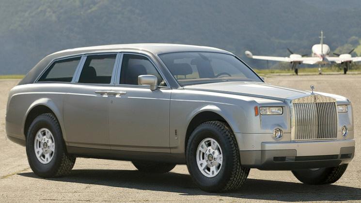 Вседорожник Rolls-Royce появится только в 2018-м - журнал За рулем