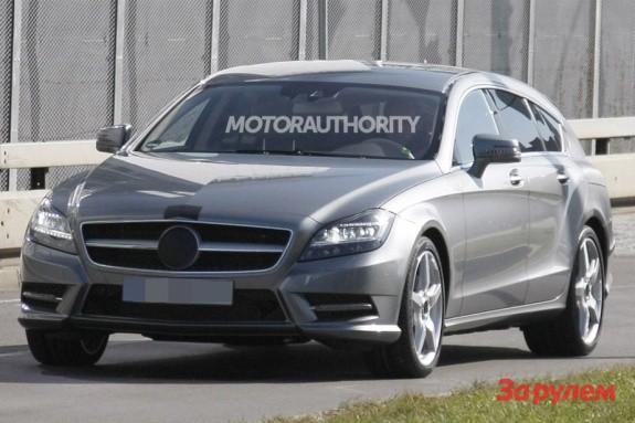 Mercedes-Benz CLS-klasse впервые показался в облике ...