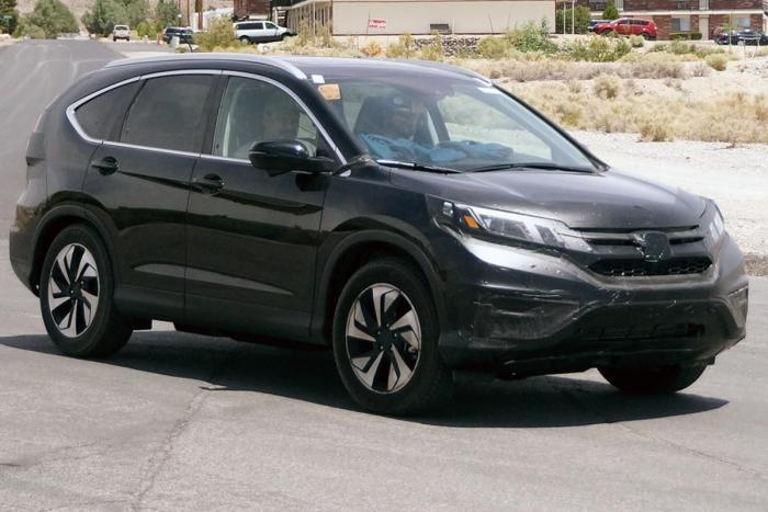 Honda тестирует обновленный кроссовер CR-V - журнал За рулем