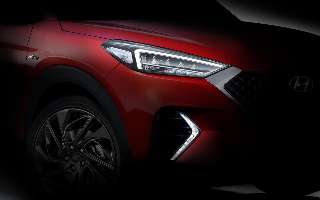 Hyundai анонсировала особую версию Tucson