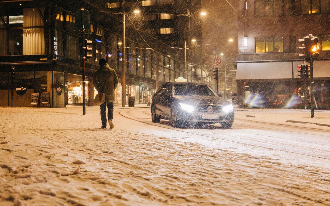 Проверка слуха: с 1 ноября — только зимние шины