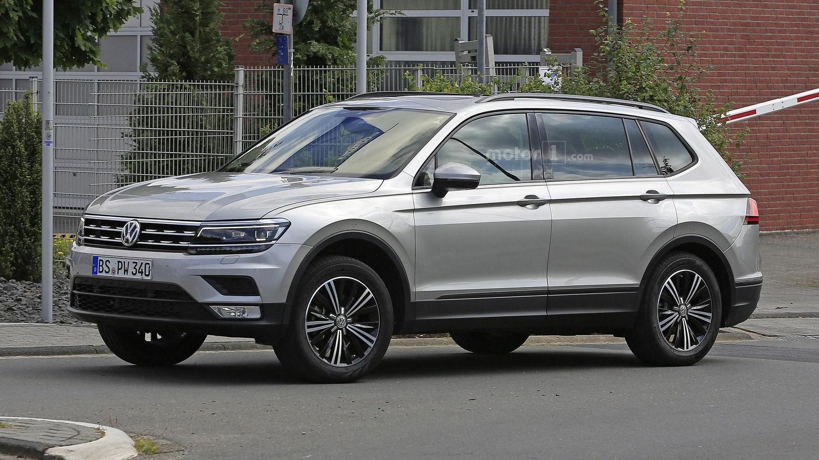 Фотошпионы рассекретили еще один кроссовер от Volkswagen
