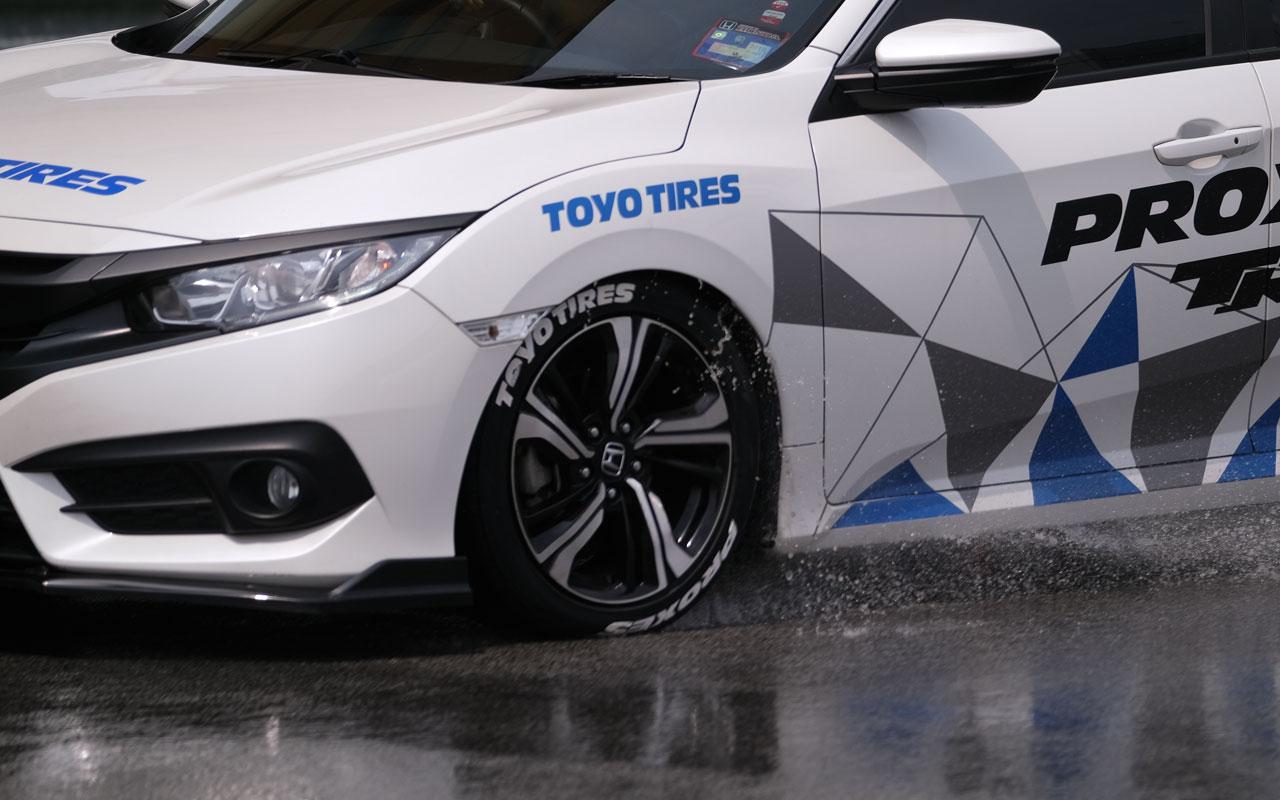Toyo Tires привезла в Россию уникальную летнюю шину