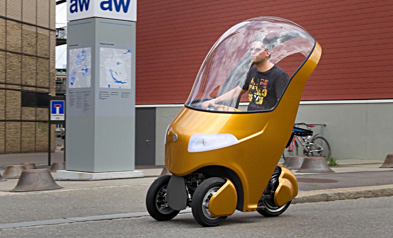 Новый минимобиль Bicar: гибрид скутера, электрокара и велосипеда