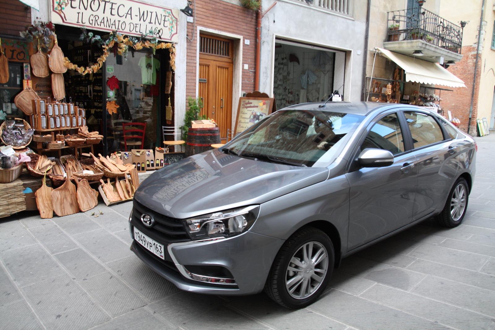 Самой популярной Ладой за границей стала Lada Priora новые фото