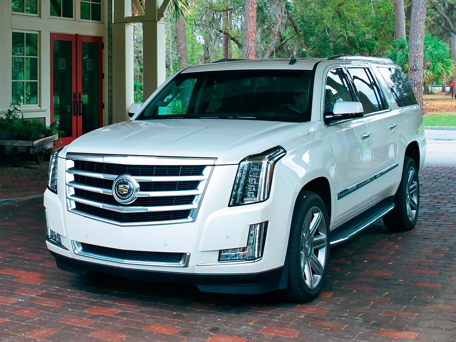 Новый Cadillac Escalade - тест-драйв - журнал За рулем