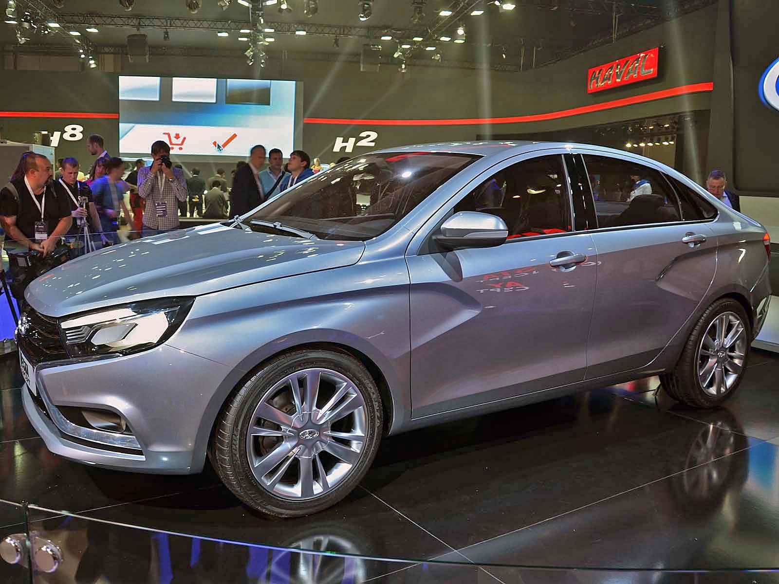 Новинка АВТОВАЗа Lada Vesta встанет на конвейер ровно через год - журнал За рулем