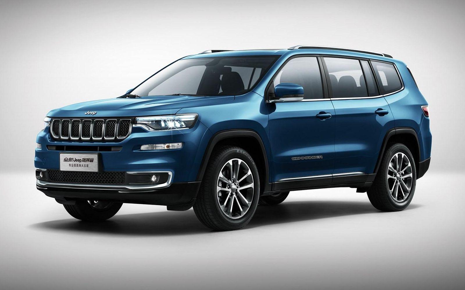Новый Jeep Commander: теперь без приставки Grand