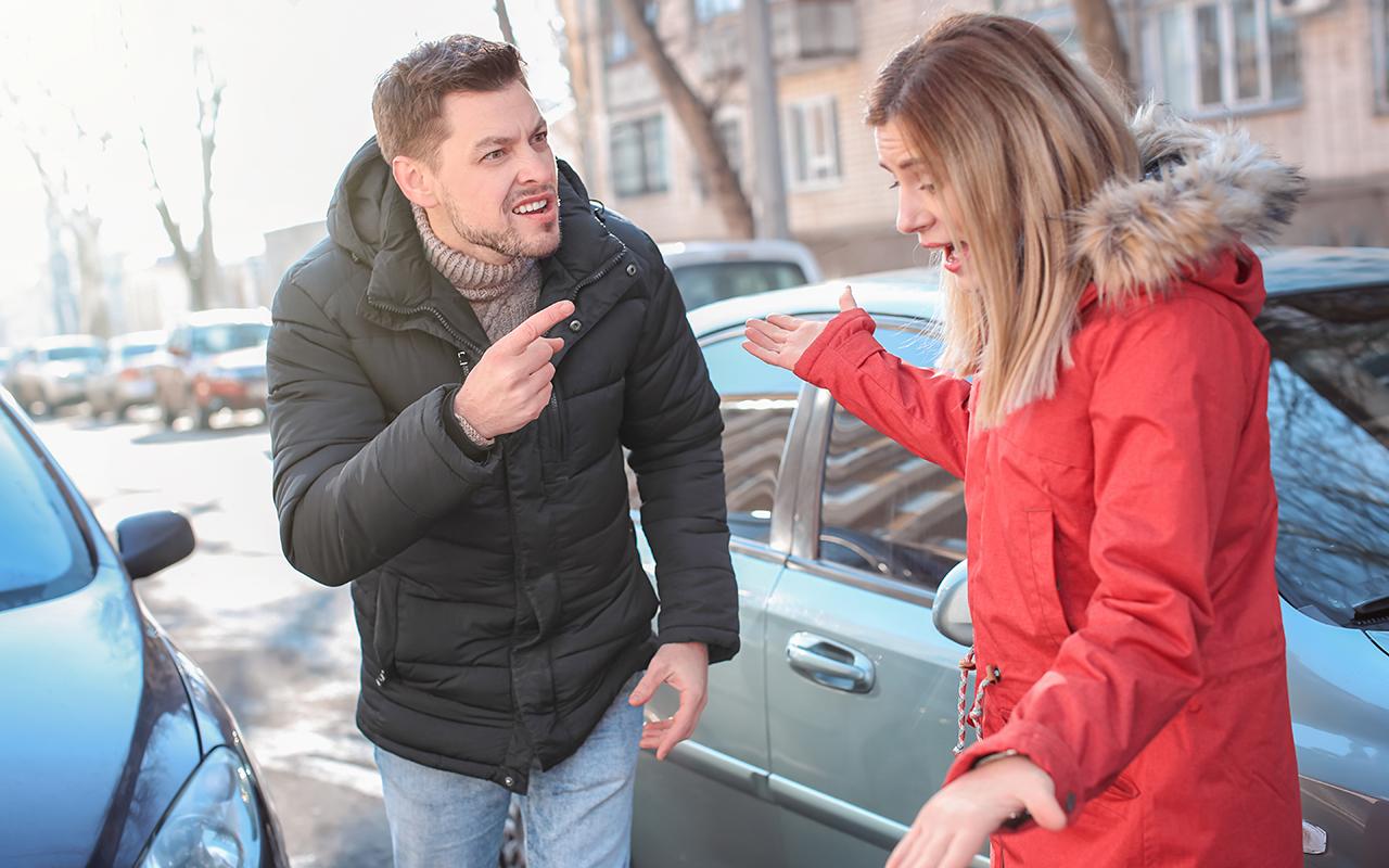 Притерли напарковке машину— это ДТП или нет?