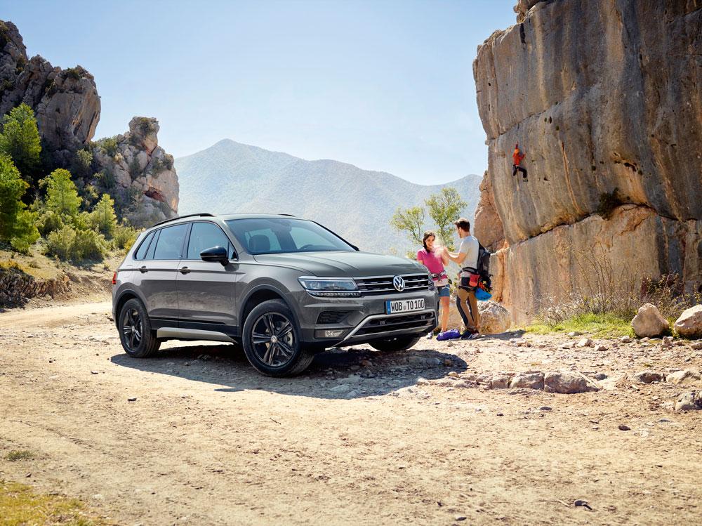 Volkswagen рассказал о «внедорожной» версии кроссовера Tiguan