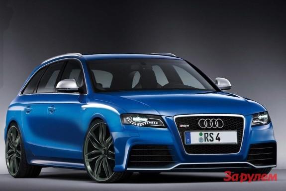 Audi покажет в Женеве мощный <b>универсал</b> RS4 Avant — журнал ...